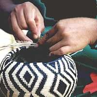 Sewing a Basket
